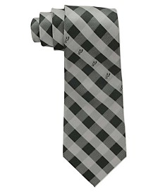 Eagles Wings San Antonio Spurs Checked Tie