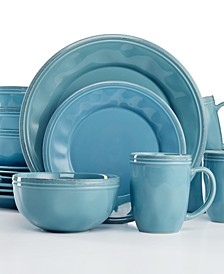 Cucina Agave Blue 16-Pc. Set, Service for 4