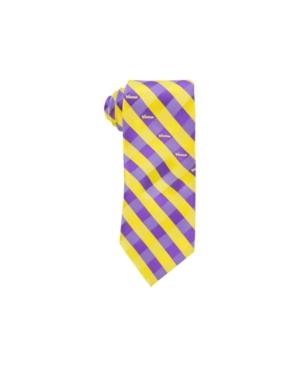 Minnesota Vikings Checked Tie
