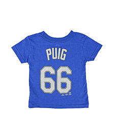 Majestic Toddlers' Yasiel Puig Los Angeles Dodgers T-Shirt