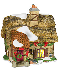 Department 56 Dicken's Village Hollyberry Cottage Collectible Figurine