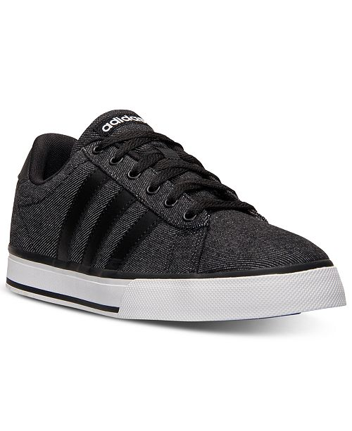 Men's Adidas SE Daily Vulc Denim Sneakers free shipping explore clearance huge surprise free shipping 100% authentic clearance pay with visa outlet where to buy wYmvu0Rn7