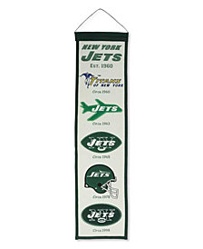 Winning Streak New York Jets Heritage Banner