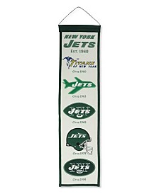 Winning Streak New York Jets Heritage Banner