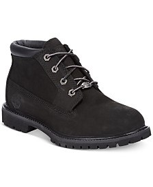 Timberland Women's Nellie Lace Up Utility Waterproof Boots