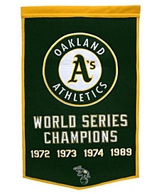 Winning Streak Oakland Athletics Dynasty Banner