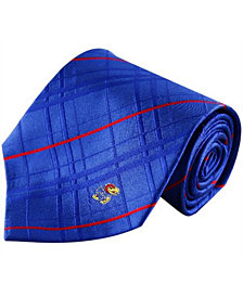 Eagles Wings Kansas Jayhawks Oxford Silk Tie