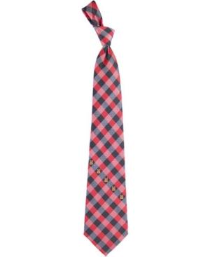 Maryland Terrapins Checked Tie