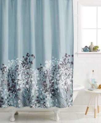 kassatex, willow shower curtain - shower curtains - bed & bath
