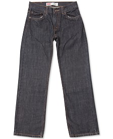 Levi's® 505™  Regular Fit Jeans, Big Boys Husky (Size 14H)