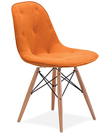 Zuo Granada Side Chair, Quick Ship