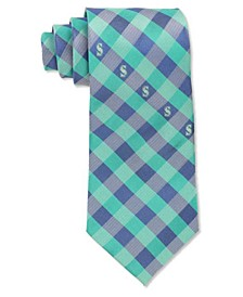 Seattle Mariners Checked Tie