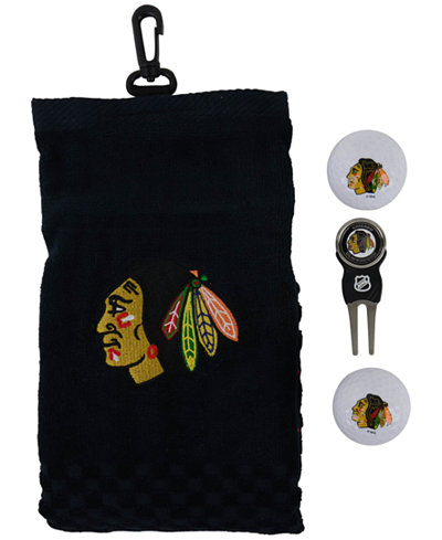 Team Golf Chicago Blackhawks Golf Towel Gift Set