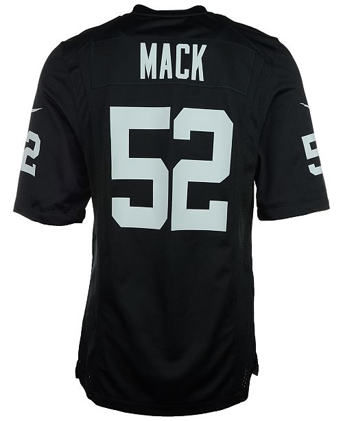 8a2f5f792 Nike Men's Khalil Mack Oakland Raiders Game Jersey & Reviews ...
