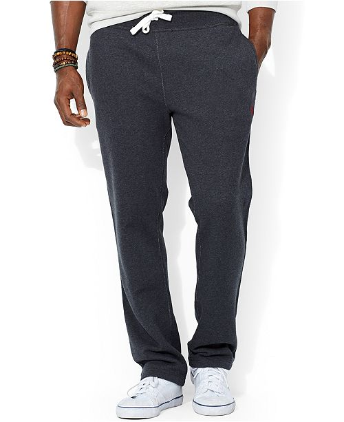 f127e6741 Polo Ralph Lauren Big and Tall Fleece Sweatpants   Reviews - Pants ...