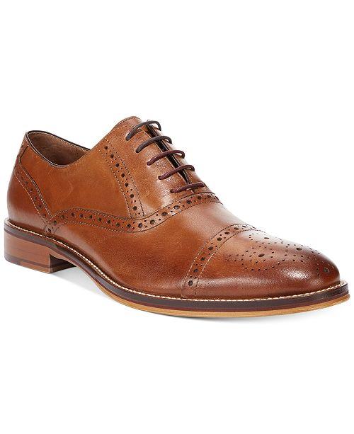 Johnston & Murphy Men's Conard Cap-Toe Oxford Men's Shoes pQAWAstZg