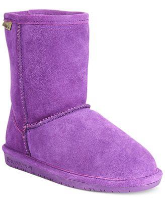 BEARPAW Emma Boots, Little Girls (11-3) & Big Girls (3.5-7 ...