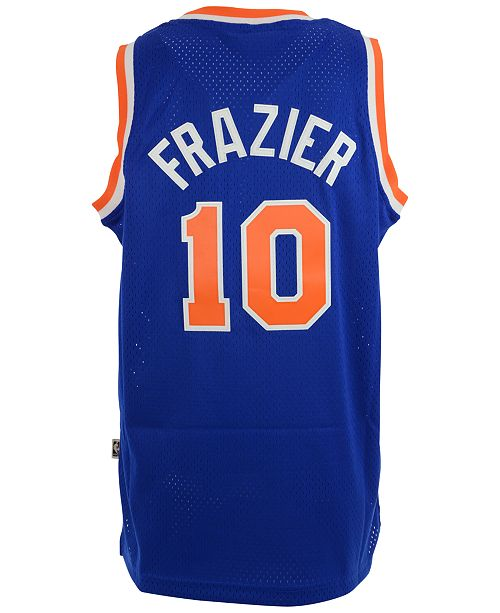 new product f4626 e0ba7 adidas Men's Walt Frazier New York Knicks Retired Player ...