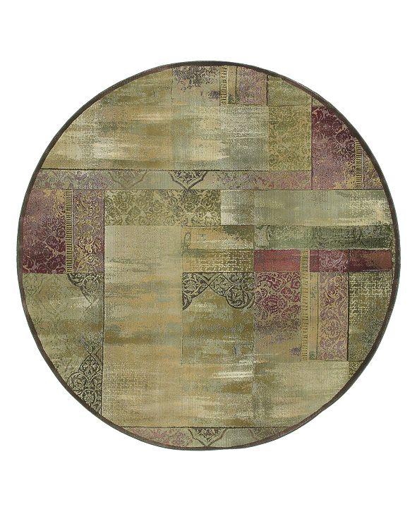 Oriental Weavers Rugs, Generations 1527X Round