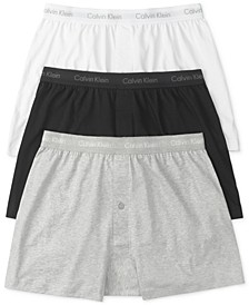 Men's 3-Pk. Cotton Classics Knit Boxers NU3040