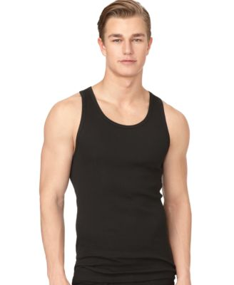 Image of Calvin Klein Men's Classic Ribbed Tank 3-Pack NM9070