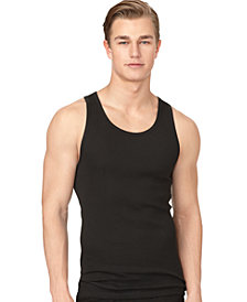 Calvin Klein Men's Classic Ribbed Tank 3-Pack NM9070