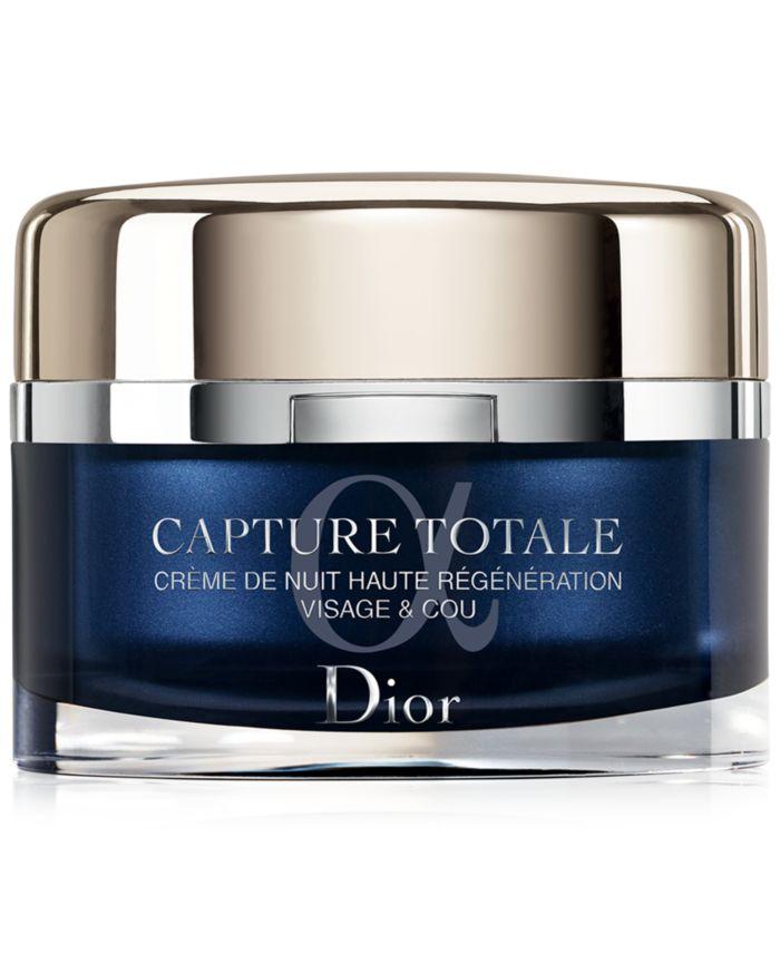 Dior Capture Totale Intensive Night Restorative Crème, 2 oz. & Reviews - Skin Care - Beauty - Macy's