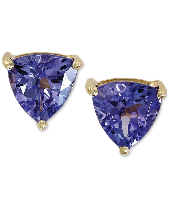 EFFY Collection - Tanzanite Stud Earrings in 14k Gold (1 ct. t.w.)