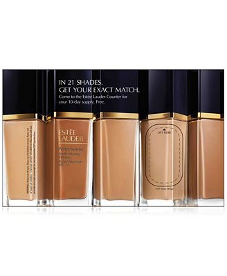 Receive a FREE Estée Lauder Perfectionist Foundation Sample with any skincare purchase