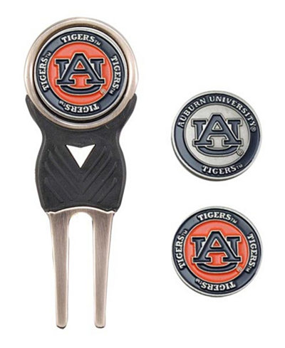 Team Golf Auburn Tigers Divot Tool and Markers Set