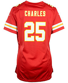 Nike Women's Jamaal Charles Kansas City Chiefs Game Jersey