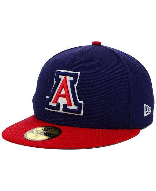 the latest 95bac 4c956 New Era Arizona Wildcats NCAA AC 59FIFTY Cap ...