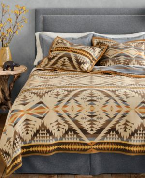 Pendleton Blankets, Diamond Desert Wool Queen Blanket Bedding 1731939