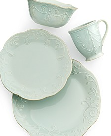 Dinnerware, French Perle 4 Piece Place Setting