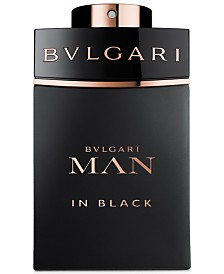 BVLGARI Man in Black Men's Eau de Parfum Spray, 3.4 oz