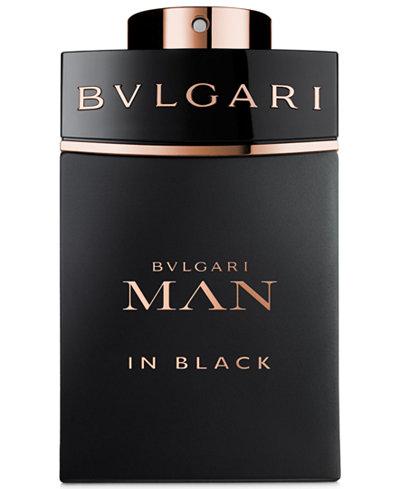 BVLGARI Man in Black Men's Eau de Parfum Spray, 3.4 oz
