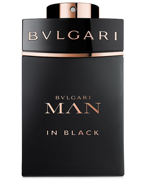BVLGARI Man in Black Men s Eau de Parfum Spray, 3.4 oz - All Cologne ... 9d5cd3b47c