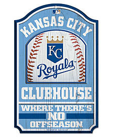 Wincraft Kansas City Royals Wood Sign