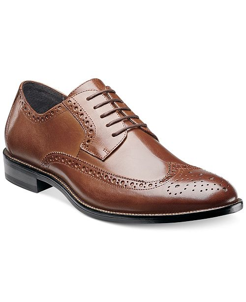 cba172a16d6ea9 Stacy Adams Men s Garrison Wing-Tip Oxford   Reviews - All Men s ...