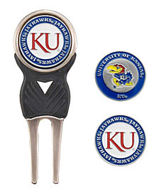 Team Golf Kansas Jayhawks Divot Tool and Markers Set