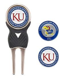 Team Golf Kansas Jayhawks Divot Tool and Markers Set