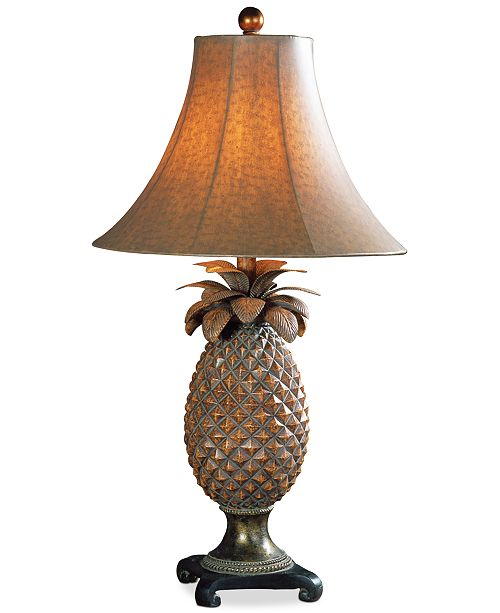 Uttermost anana pineapple table lamp lighting lamps home macys main image main image aloadofball Choice Image