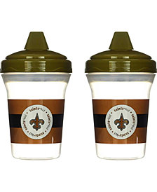 Baby Fanatics New Orleans Saints 2-Pack Sippy Cups