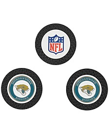 Jacksonville Jaguars 3-Pack Poker Chip Golf Markers