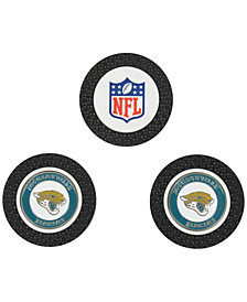 Team Golf Jacksonville Jaguars 3-Pack Poker Chip Golf Markers