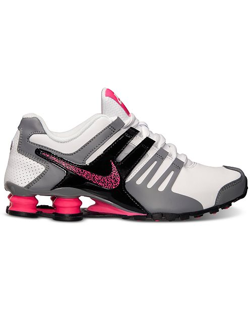 separation shoes 8bd27 9da1c ... Nike Women s Shox Current Running Sneakers from Finish ...