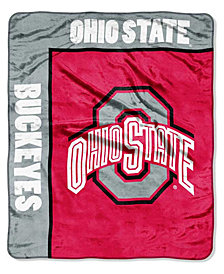 Northwest Company Ohio State Buckeyes Plush Team Spirit Throw Blanket