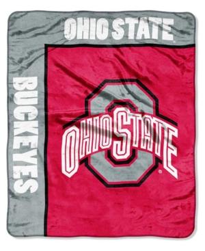 Northwest Company Ohio State Buckeyes Plush Team Spirit Throw Blanket