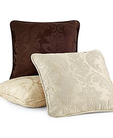 "Sure Fit Matelasse Damask 18"" Pillow Slipcover"