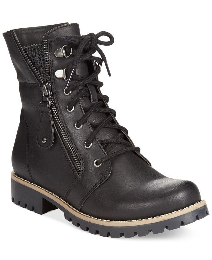 White Mountain - Pembroke Lace-Up Boots